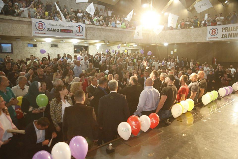 3 12 - Završni miting u Prijepolju – SPP je bedem vjere, kulture i identiteta