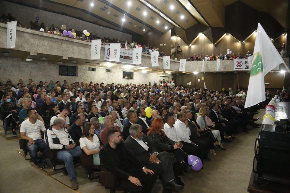4 10 - Završni miting u Prijepolju – SPP je bedem vjere, kulture i identiteta