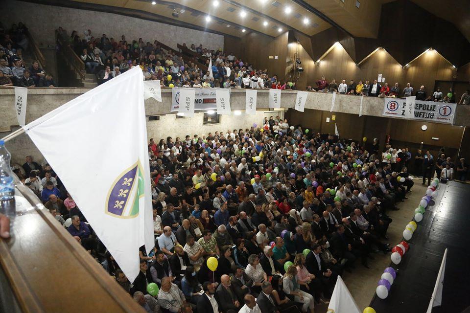 5 8 - Završni miting u Prijepolju – SPP je bedem vjere, kulture i identiteta