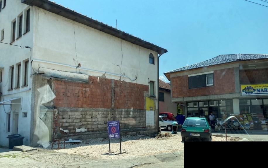 Ovako je izgledala parcela nakon rušenja legaliziranog objekta