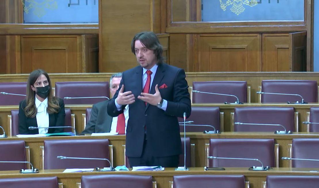 Foto: Ministar unutrašnjih poslova Sergej Sekulović