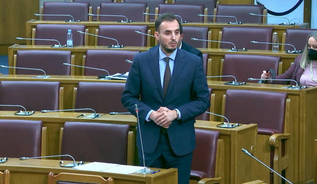 Foto: Narodni poslanik Miloš Konatar
